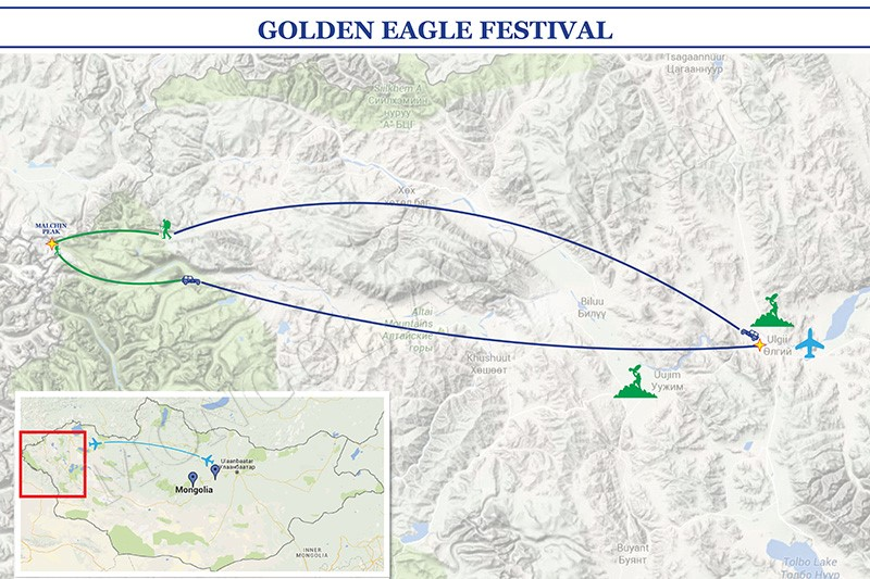 GOLDEN EAGLE FESTIVAL & ALTAI MOUNTAINS